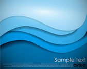 Blue abstract background — Stock Vector