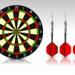 Stockvektor : Darts