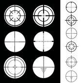 十字线 — 图库矢量图片
