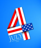 July 4 — Vector de stock