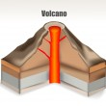 Volcano — Stock Vector #26121431