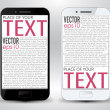 Smartphone space for text — Stock Vector #26121717