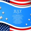 Royalty-Free Stock Vector Image: Independence day background