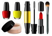 Make up set — Stock Vector