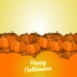 Happy Halloween background — Stock Vector