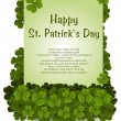 Stock Vector: St patricks day background