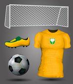 Ivory Coast soccer jersey — Stock Vector