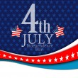 July 4 background — Stock Vector #50102403