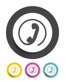 Phone sign icon — Vetorial Stock