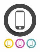 Smartphone sign icon — Stockvector