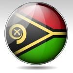 Постер, плакат: Vanuatu flag button