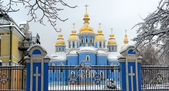 Church in the snow — Stock Photo