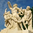 Laocoon sculpture at Versailles — Stock Photo