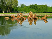 Apollo fountain at Versailles — Stock Photo