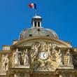 Facade of the  Luxembourg Palace — Stock Photo