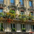 Balconies in Paris — Stock Photo