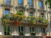 Balconies in Paris — Fotografia Stock