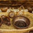 Pottery bowls - Stock Photo