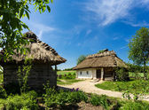 Ukrainian rural 19th-century farmstead — Stock Photo