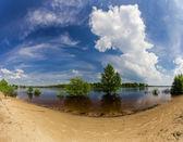 Malá povodeň — Stock fotografie