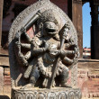 Singhini sculpture - lioness goddess in Bhaktapur — Stock Photo #26823087