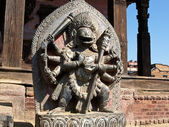 Singhini sculpture - a lioness goddess in Bhaktapur — 图库照片
