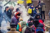 People on Maidan in Kiev — Stock Photo