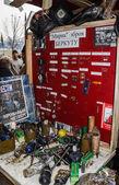 Museum peaceful weapons Ukrainian law enforcers — Stock Photo