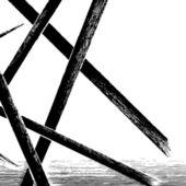 De fundo vector geométricas, textura de fundo. — Vetorial Stock