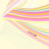 ретро вектор фон ретро плакат ретро эмблема партии плакат — Cтоковый вектор