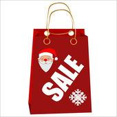 Sale stitch sticker price tag. — Stock Vector