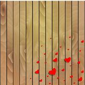 Walentynki tło z serca. — Wektor stockowy