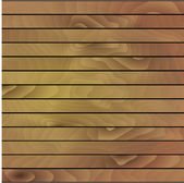 Vector illustration wooden background. — Stock Vector