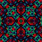 Sömlös retro geometriska mönster — Stockvektor