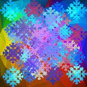 Snowflakes Design. — Stock Vector
