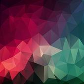 几何形状的图案。多彩马赛克横幅. — 图库矢量图片
