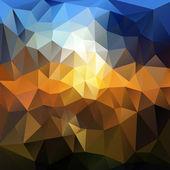 шаблон геометрических фигур. красочная мозаика баннер. — Cтоковый вектор