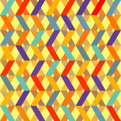 Seamless Retro Geometric Pattern — Stockvektor