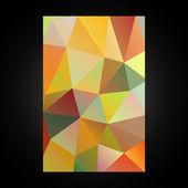Mönster av geometriska former. — Stockvektor