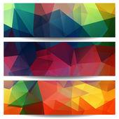 Patroon van geometrische vormen — Stockvector