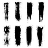 Grunge brush strokes — Stock Vector