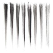 Vector set of grunge brush strokes. — Stock Vector