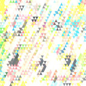 Retro patrón de formas geométricas. — Vector de stock