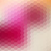 Retro pattern of geometric shapes — Stock Vector