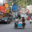 Thailand. Street in Patong. Editorial only. — Stock Photo