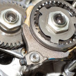 Stock Photo: Pinion gear car