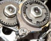 Pinion gear car — Stock Photo
