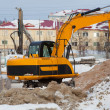 Stock Photo: Construction of new home. preparatory work