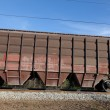 The rail car of a freight train — Stock Photo #26506169