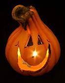 Halloween pumpkin light2 — Stock Photo